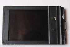 "3.25 x 4.25"" Sheet Film Holder with Darkslides - Graflex Type 4 Wood - USED M44"