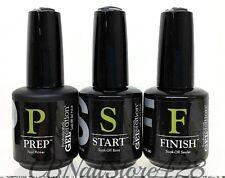 Jessica GELeration Nail Gel System- Soak-off PREP + START + FINISH 0.5oz