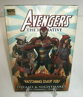 Avengers The Initiative Dreams & Nightmares Marvel HC Hard Cover New Sealed