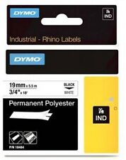 Newell Industrial (19mm) High Performance Permanent Polyester Tape (Black on
