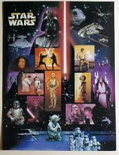2007 STAR WARS15 CHARACTER 41c STAMPS SHEET 4143! SET US Commeratives