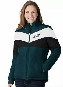 Philadelphia Eagles NFL Women's 2XL Slap Shot Polyester Jacket by G-lll NEW