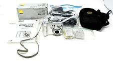 Rare Nikon Coolpix 4200 + All Accessories Ac Adapter Charger Batteries Manual