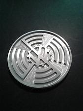 VW KDF Cog flag logo hood ornament