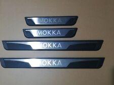Set 4 Battitacco Sottoporta Metallo Stemma Emblema OPEL MOKKA