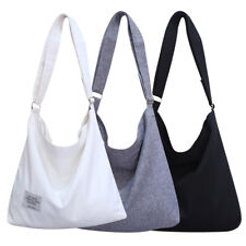 Women Canvas Hobo Crossbody Shoulder Tote Bags Large Pouch Travel Shopping Bag