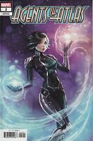 Agents of Atlas #2 2019 Unread Sabine Rich 1:25 Variant Cover 2B Marvel Comics