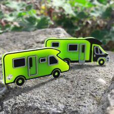 Wohnmobil Caravan Schlüsselanhänger Anstecker Anstecknadel Magnetschild Schild
