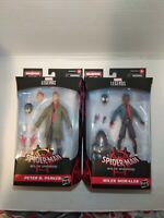 Marvel legends spiderman into the spiderverse Peter Parker & Miles Morales