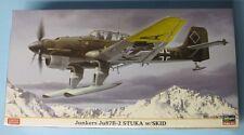 Hasegawa Junkers Ju87 B-2 Stuka with Skid, 1/48, Limited Edition kit #07317