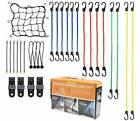 Bungee Cords With Hooks, 29pc Set, Canopy Ties, Tarp Clips & Ball 29pcs/Set(a)