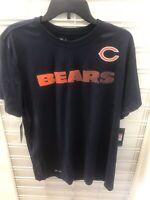 Brand New Chicago Bears Nike Dri-Fit Shirt Large .,. .,.,.//