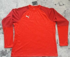 3 Puma CUP Training Sweat Core Size XXL Red Chili Pepper 656021 01