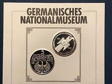 5 DM Germanisches Nationalmuseum 1952 / NP 2 / bankfrisch