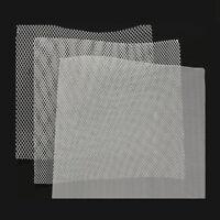 Aluminium Gewebe Lichtschacht Draht Alu Gitter Fliegengitter Gaze Mücken 25x20cm