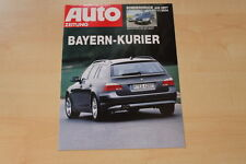 71157) BMW 530d E61 Touring - AMS Sonderdruck 11/2004