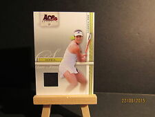 2007 Ace Authentic Straight Sets Materials #3 Ana Ivanovic