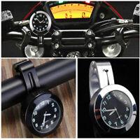Pitbike Mini Moto Midi Waterproof Clock 22mm Trike BMX MTB Scooter Cruiser Bike