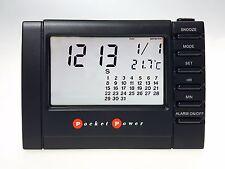 Réveil de voyage Avec Écran LCD Transparent DE POCHE POWER PP7139