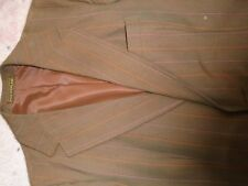Vintage 70`s pinstripe jacket blazer boating stripe small