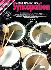 Progressive Around the Drums with Syncopation by Jim Latta (1997 PB) Book ONLY