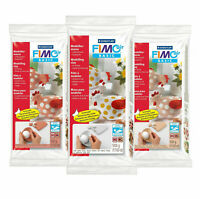 FIMO Air Drying Modelling Clay & Tools - White, Flesh & Terracotta, 500gms & 1kg