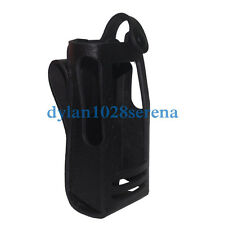 Hard Leather Carrying Case For Motorola XPR6300 XPR6350 GTP800 XPR6550 XIR P8268