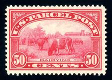 #Q10, 50c Dairying - Parcel Post, Very Fine-Og-Vlh, 2003 Pse (graded 80, ph)