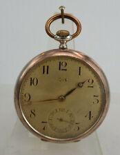 Offene Herrentaschenuhr Chopard & Cie Silber um 1900 (69181)