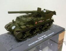 TANQUE TANK 155 mm GMC M12 991 FIELD ARTILLERY BELGIUM 1944 1/43 ALTAYA