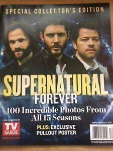 TV GUIDE MAGAZINE - SUPERNATURAL FOREVER SPECIAL COLLECTOR ISSUE 2021