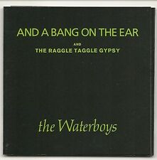 "THE WATERBOYS AND A BANG ON THE EAR + THE RAGGLE TAGGLE GYPSY 3"" CD SINGLE 1989"