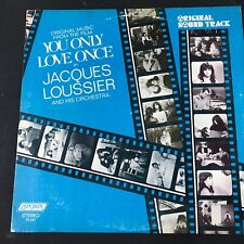 You Only Love Once  - Soundtrack (OST) LP 1968 Jacques Loussier Vinyl is NM