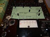 USA 5751 = ECC83 Röhre Tube 3,4/3,6 mA Valve auf Funke W19 geprüft BL1360
