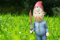 Horror Movie Gnomes Thirteen Jason Voorhees Friday the 13th Lawn Gnome