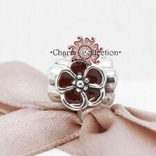 Pandora Wine Red Flower, Bracelet S925 Charm, NEW, 790897EN07