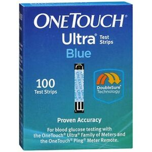 OneTouch Ultra Blue Test Strips -100 Count