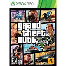 Grand Theft Auto V 5 (Xbox 360) Free Shipping Factory Sealed Gta 5