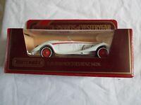 MATCHBOX MODELS OF YESTERYEAR Y-20 1938 MERCEDES BANZ 540K