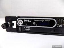 Dell poweredge r300 servidor Intel e6405 4gb RAM DVD 400 vatios de alimentación - 100% ok