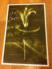 Tori Amos & A Man Called E 1992 Beacham Theater Concert Poster Rare! 11x17