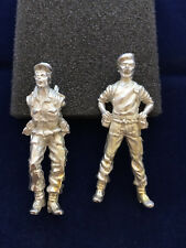 New Hope Design Toy Soldier Staff Recruit Parachute Regiment Metal Figure 54mm