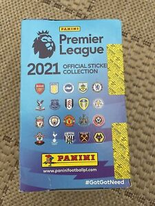 Panini Premier League 2021 Official Sticker Collection Sealed Box