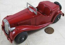 Vintage 1950's Die Cast Hubley 432 Kiddie 6� Red Roadster Restored 432