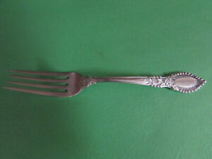 Reed and Barton Guildhall   Sterling Silver Dinner  Fork