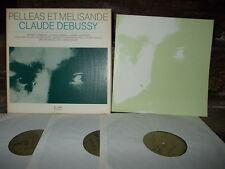 DEBUSSY: Pelleas et Melisande   Bacquier Command Baudo / Eurodisc Germany stereo