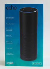 Amazon Echo w/ Alexa Voice Control Personal Assistant & Bluetooth Speaker, Black
