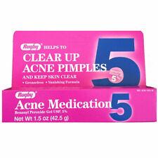 Rugby Benzoyl Peroxide 5% cream Gel acne spot treatment 1.5oz UK SELLER