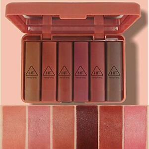 6pcs/set Nude MATTE Lipstick Waterproof Long Lasting Kit Velvet Lip new G6B4