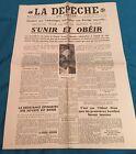 Journal La Depeche of / The 21 October 1942